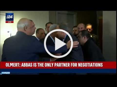 J Street President Jeremy Ben-Ami Kisses Mahmoud Abbas
