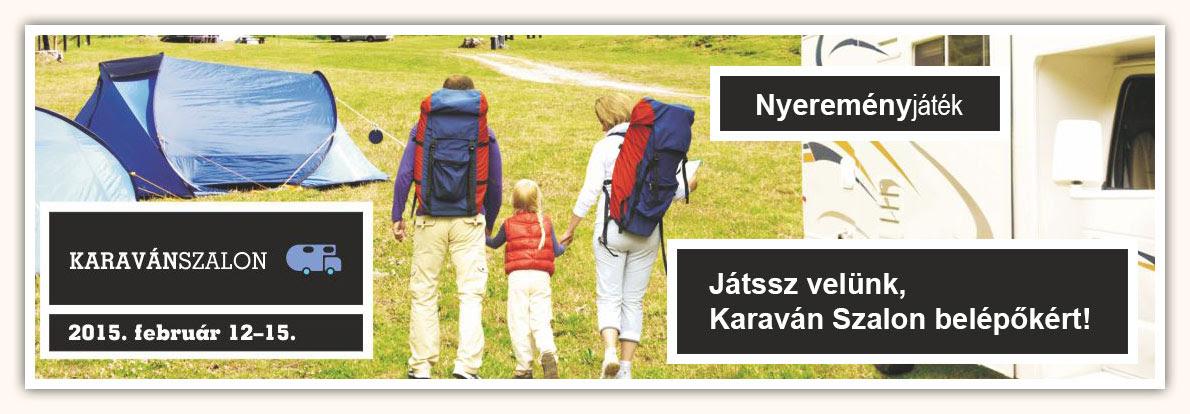 Karaván Szalon Nyereményjáték
