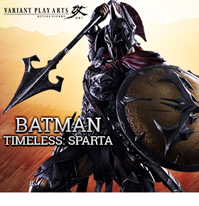 PLAY ARTS BATMAN TIMELESS SPARTA