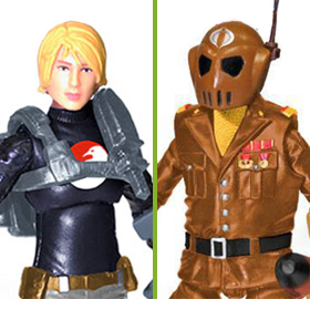 NEW G.I. JOE SUBSCRIPTION FIGURES