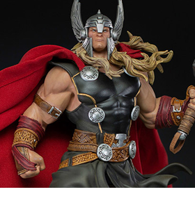 Marvel Thor Unleashed 1/10 Deluxe Art Scale Limited Edition Statue
