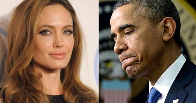 Actress Angelina Jolie Humiliates Obama for the Whole World to See (Video)