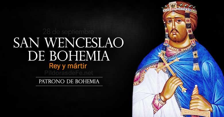 san wenceslao de bohemia rey y martir