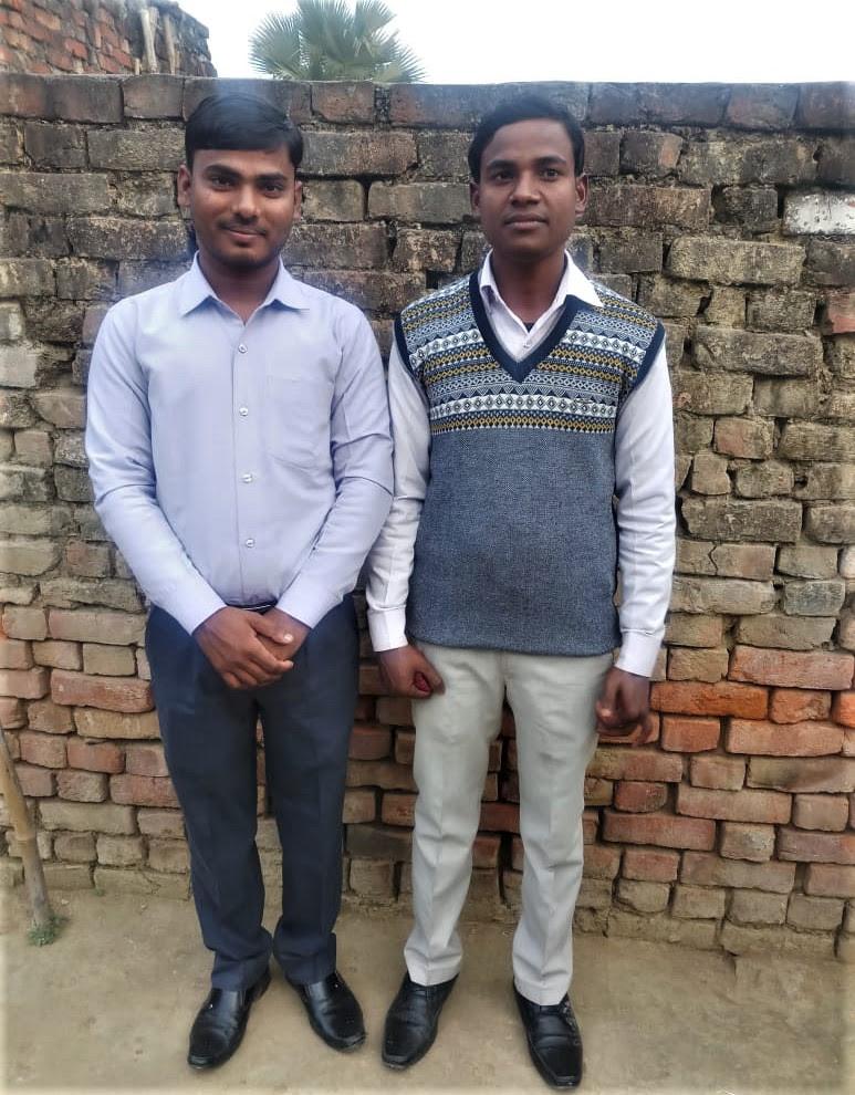 Pastors Om Prakash (left) and Ajay Kumar face baseless charges in Uttar Pradesh, India. (Morning Star News)