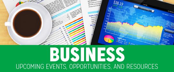 Business opportunities newsletter banner
