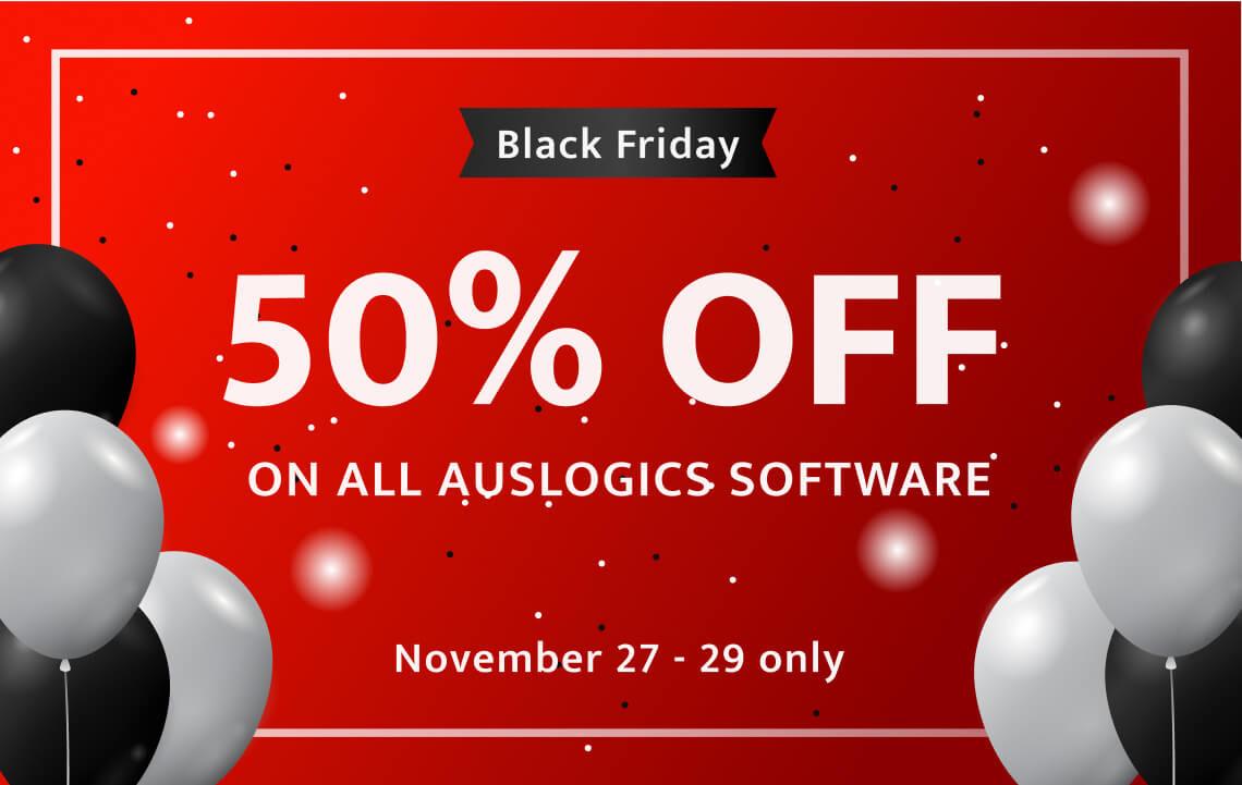 Auslogics Black Friday Deals