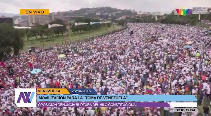 Resultado de imagen para venezolanos protestan contra maduro octubre 2016