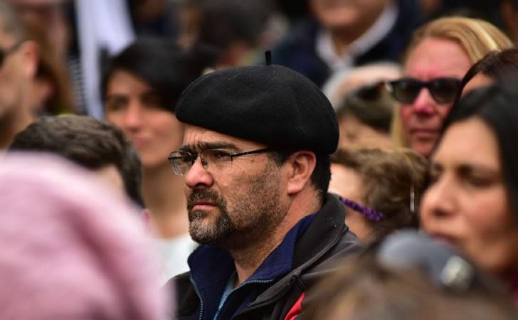 Daniel Acuña, Presidente del PIT-CNT de Cerro Largo / Foto: La voz de Melo