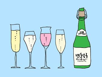 Sake Expressions – Sparkling Sake For New Year's Eve C