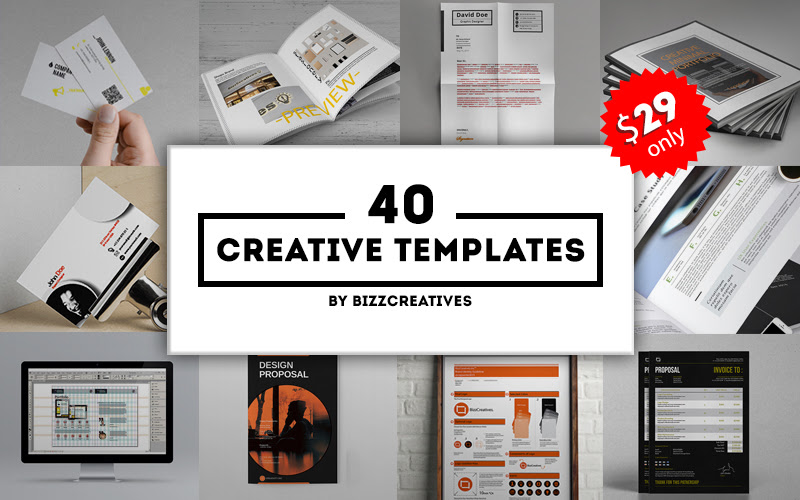 40 Creative Templates