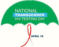 Logo for National Transgender HIV Testing Day, April 18, 2016