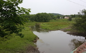 Conversion of stream buffers to crop production has increased agricultural runoff, creating problems for wildlife and water quality. (JackTheVicar/Wikipedia)