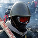 A protester at the barricade in Kiev, Ukraine, on Monday.