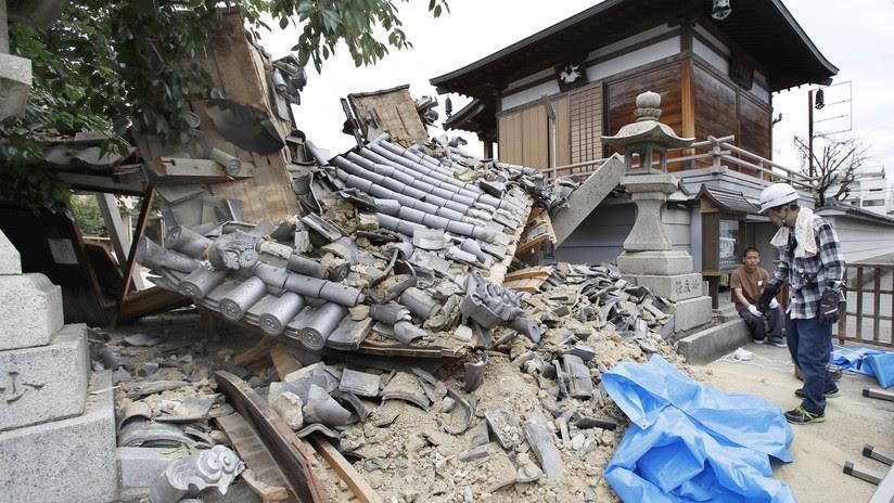 Un fuerte sismo en Japón deja al menos 4 muertos y 350 heridos