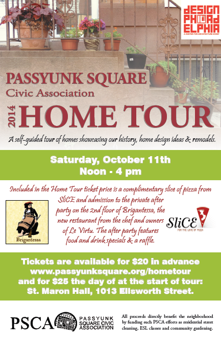 passyunk square civic association from the newsletter home tour