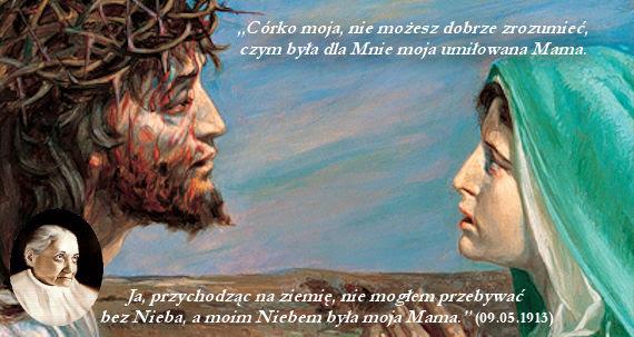 Doskonała jedność między Jezusem a Maryją: Ona była Niebem dla ...
