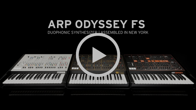 ARP ODYSSEY FS | The Legend Returns with Full Size
