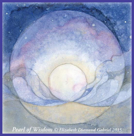 Pearl of Wisdom © Elizabeth Diamond Gabriel 2015