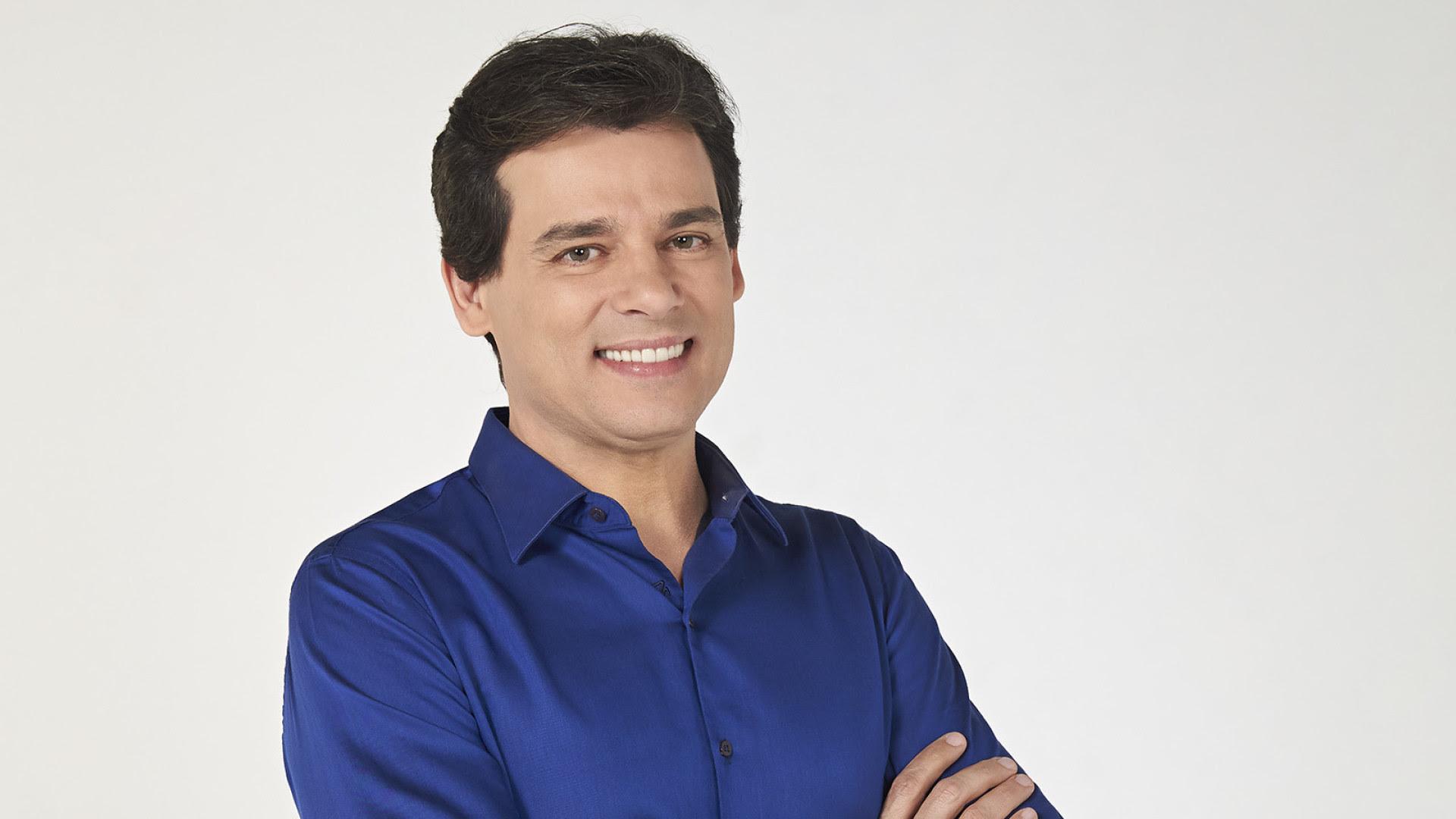 Celso Portiolli faz brincadeira e é 'barrado' ao tentar entrar na Globo