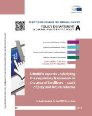 study on scientific aspects underlying the regulatory framework in the area of fertilisers – state of play and future reforms
