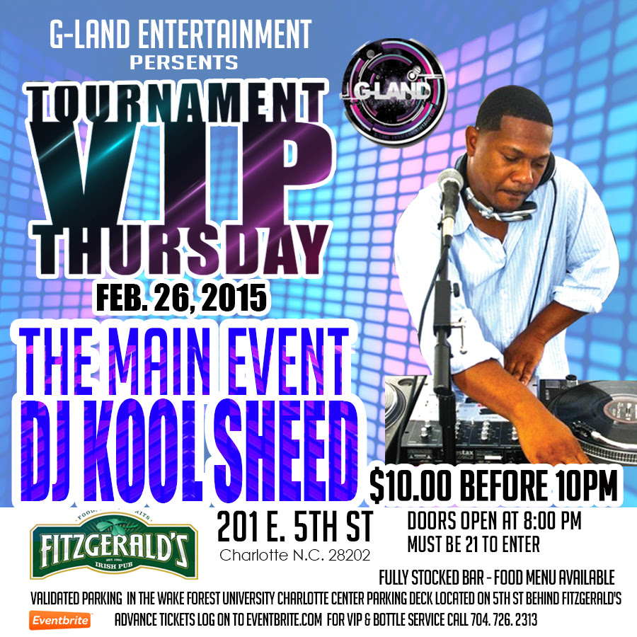 #CIAAWeekend | The Main Event Featuring Dj Kook Sheed | Thursday February 26th at Fitzgerald's | Tickets Inside