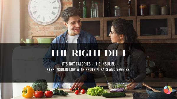 Diet to stay Younger and thinner