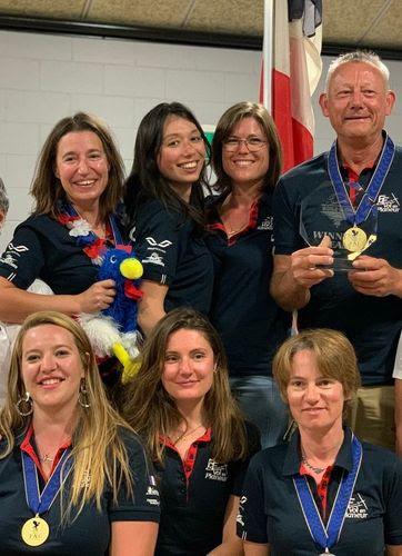 L'équipe de France remporte la médaille d'Or