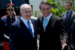 Bolsonaro promete a Netanyahu visitar Israel até março