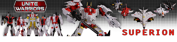 TRANSFORMERS UNITE WARRIORS SUPERION