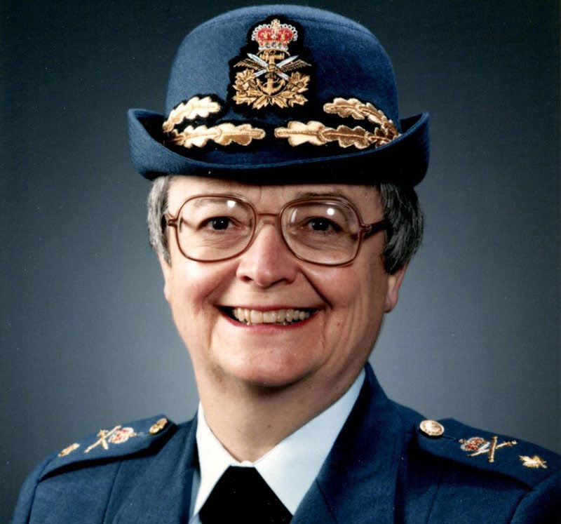 Canada bids farewell to its first female general