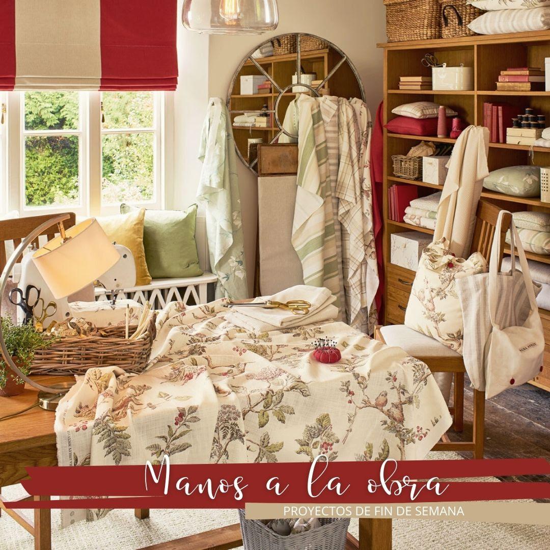 Cambia de decoración con el estilo de Laura Ashley