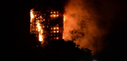 Incendie Londres