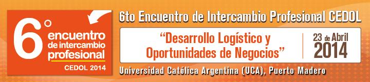 6to Encuentro de Intercambio Profesional CEDOL - 23 de Abril 2014