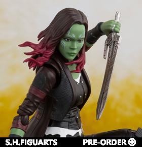 Avengers: Infinity War S.H.Figuarts Gamora