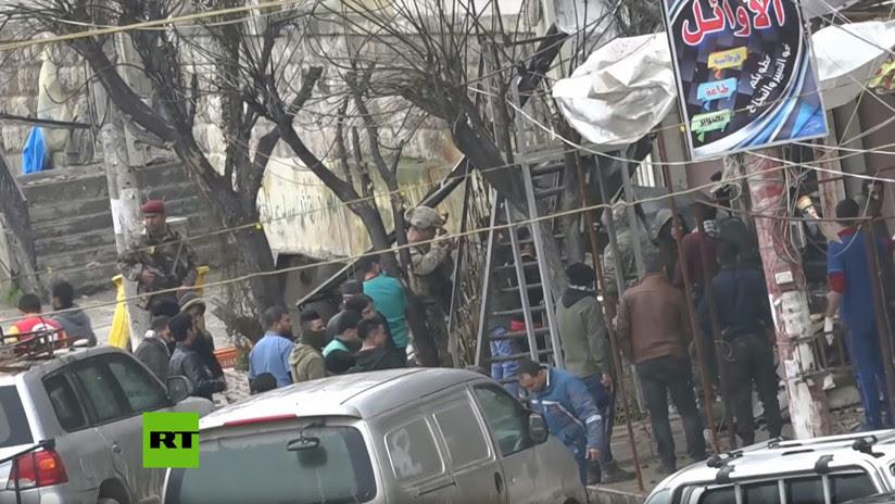 Al menos 20 muertos por el ataque en Manbij reivindicado por el EI, entre ellos soldados de EE.UU.