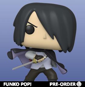 Pop! Animation: Boruto: Naruto Next Generations Specialty Series - Sasuke With Cape (No Arm)