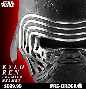 Star Wars Episode VII Kylo Ren Premier Helmet