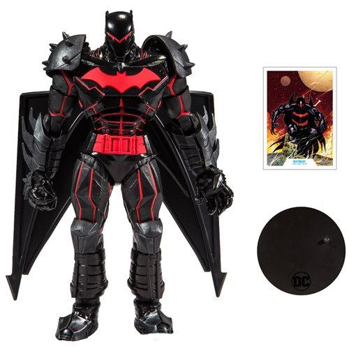 "Image of DC Armored 7"" Action Figure Wave 1 - Hellbat Suit Batman"