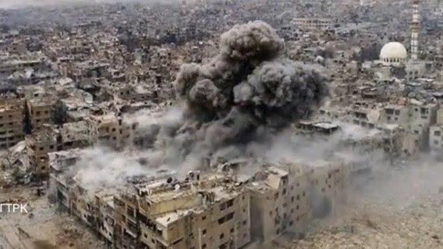 Бомбардировка Ярмука