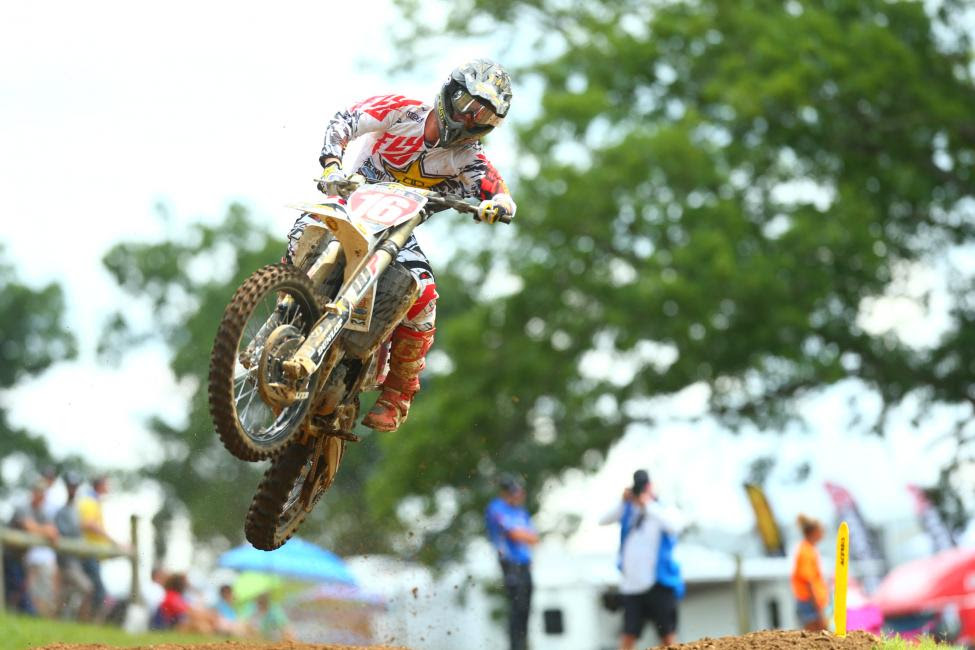 Osborne added to his points lead with a strong runner-up effort.Photo: MX Sports Pro Racing / Jeff Kardas