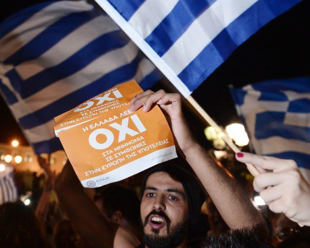 """Lo que """"no"""" significa que después de Referéndum de Grecia"""