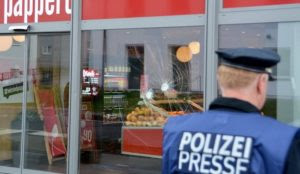 Germany: Muslim migrant teen attacks man, smashes windows, throws stones at police, who say his motive is unknown