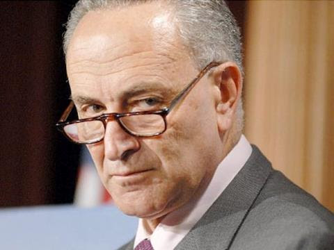 Chuck Schumer and Dem Senators Beg Obama to Take the First Amendment Away from the Tea Party