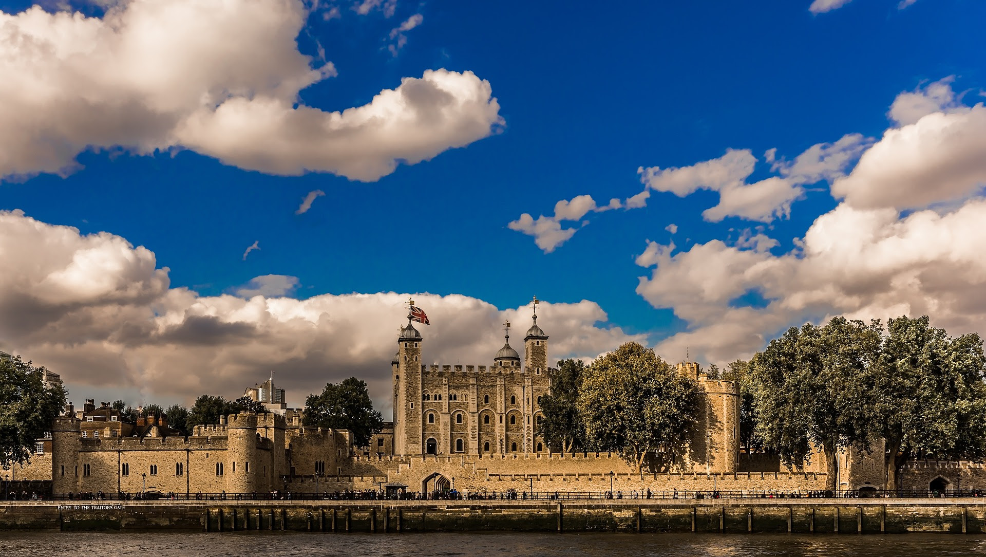 Tower of London, old Historic Castle of London