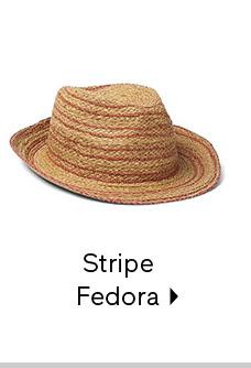 Stripe Fedora