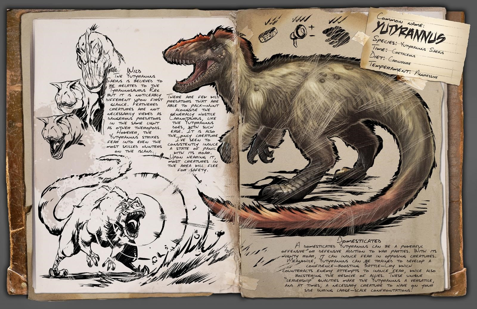 ARK: Survival Evolved - Yutyrannus