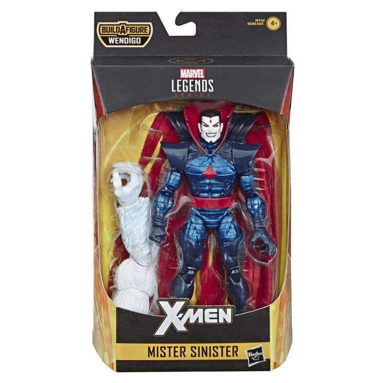 Image of X-Force Marvel Legends Wave 1 (Wendigo BAF) - Mister Sinister