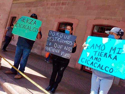 Denuncia REMA caso omiso de la Semarnat para atender a los habitantes de Tlaltenango