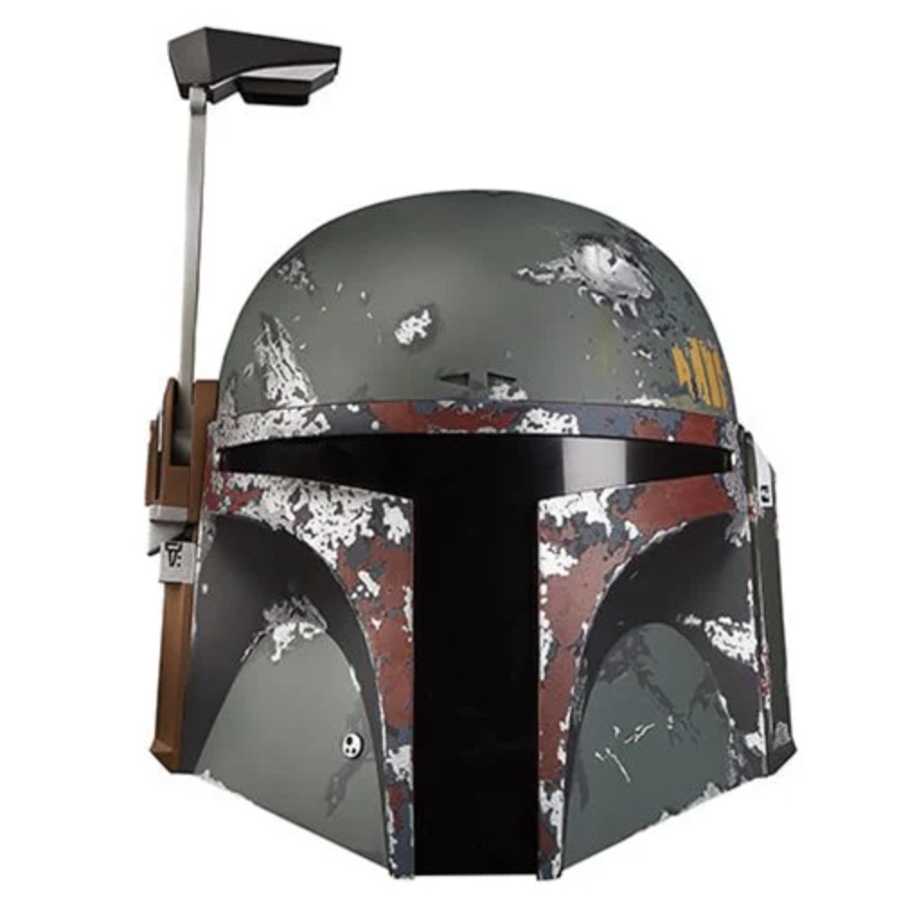 Image of Star Wars The Black Series Boba Fett Helmet - MAY 2020