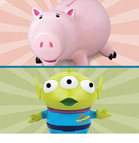TOY STORY 4 BANKS & FIGPINS